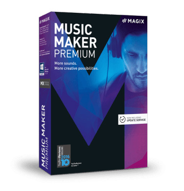 MAGIX Music Maker Premium.