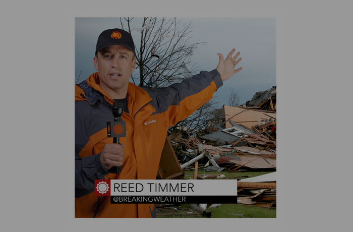 "AccuWeather Announces ""Extreme"" Meteorologist Reed Timmer Joins AccuWeather Network Team."