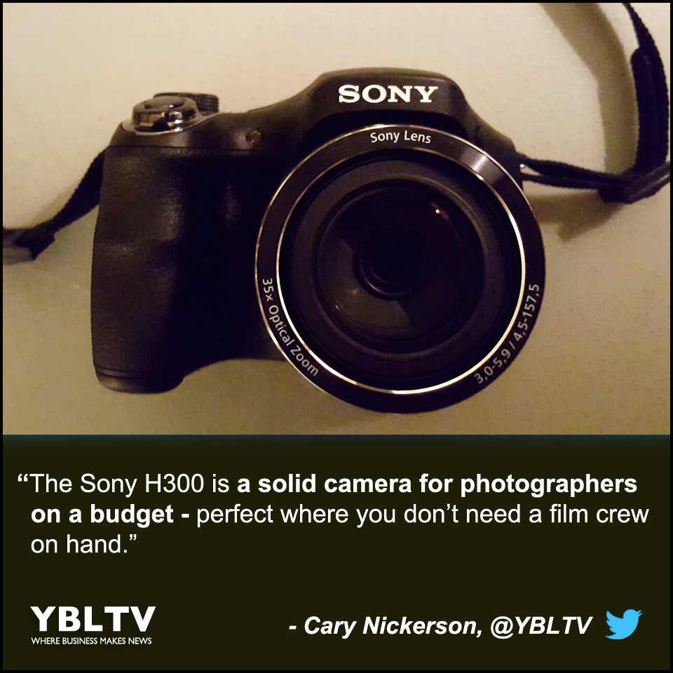 YBLTV Cary Nickerson Review: The Sony H300.