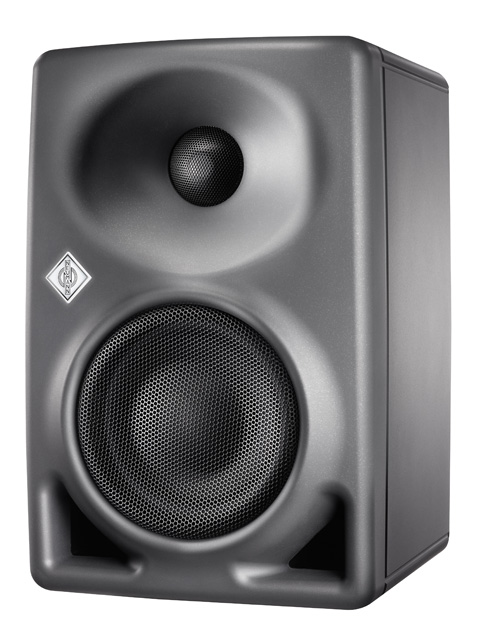 The brand-new Neumann KH 80 DSP two-way near-field studio monitor makes the room calculable