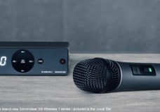 Available now: the brand-new Sennheiser XS Wireless 1 series - pictured is the Vocal Set