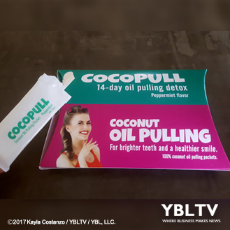 YBLTV Review: CocoPull - Coconut Oil Pulling Packets For Whiter Teeth & Healthier Smile.