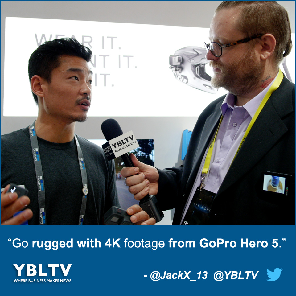 Go Rugged With 4K Footage From GoPro Hero 5.
