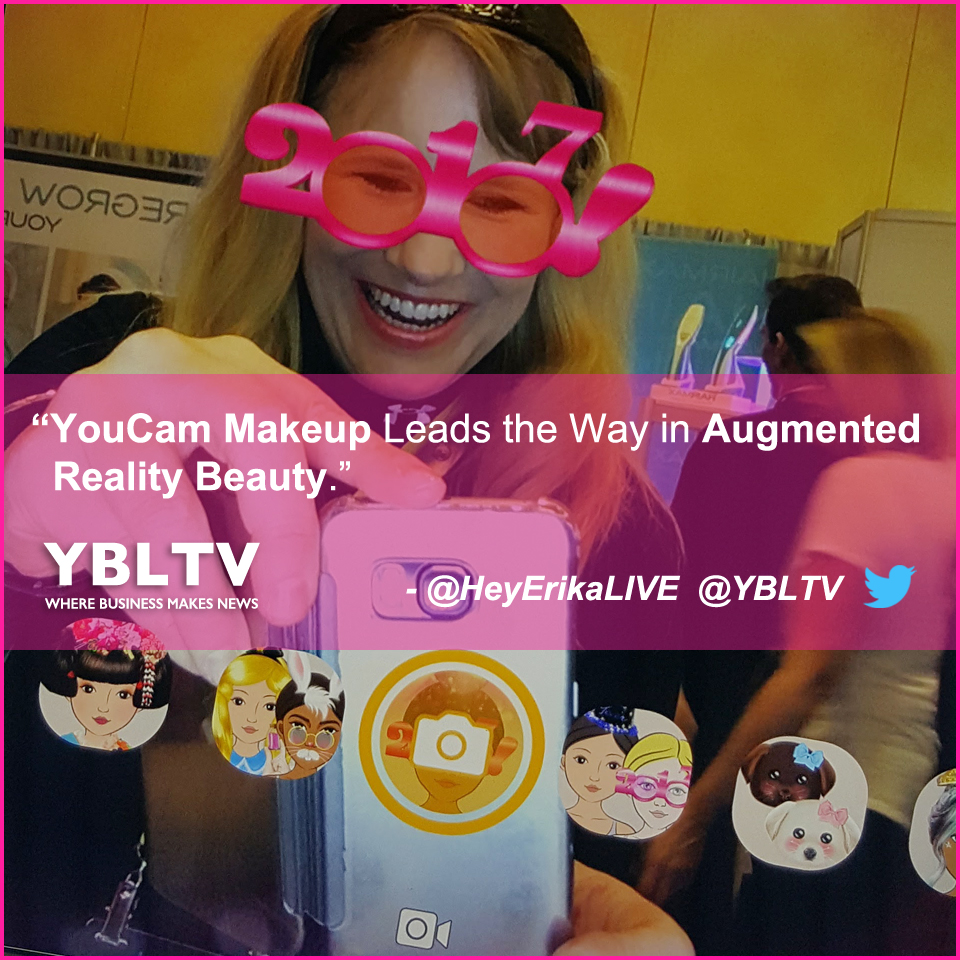 YouCam Makeup Leads the Way in Augmented Reality Beauty.