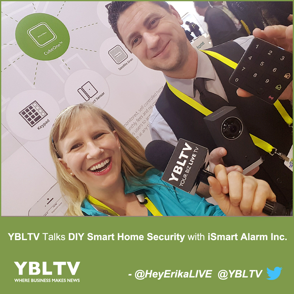 ybltv talks diy smart home security with ismart alarm inc ybltv. Black Bedroom Furniture Sets. Home Design Ideas