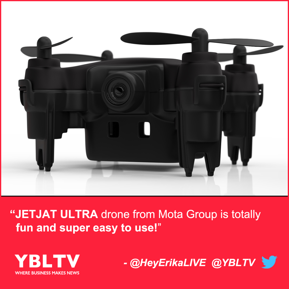 JETJAT ULTRA drone from Mota Group is totally fun and super easy to use!
