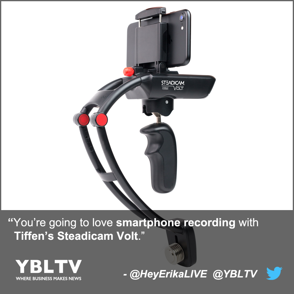You're going to love smartphone recording with Tiffen's Steadicam Volt.