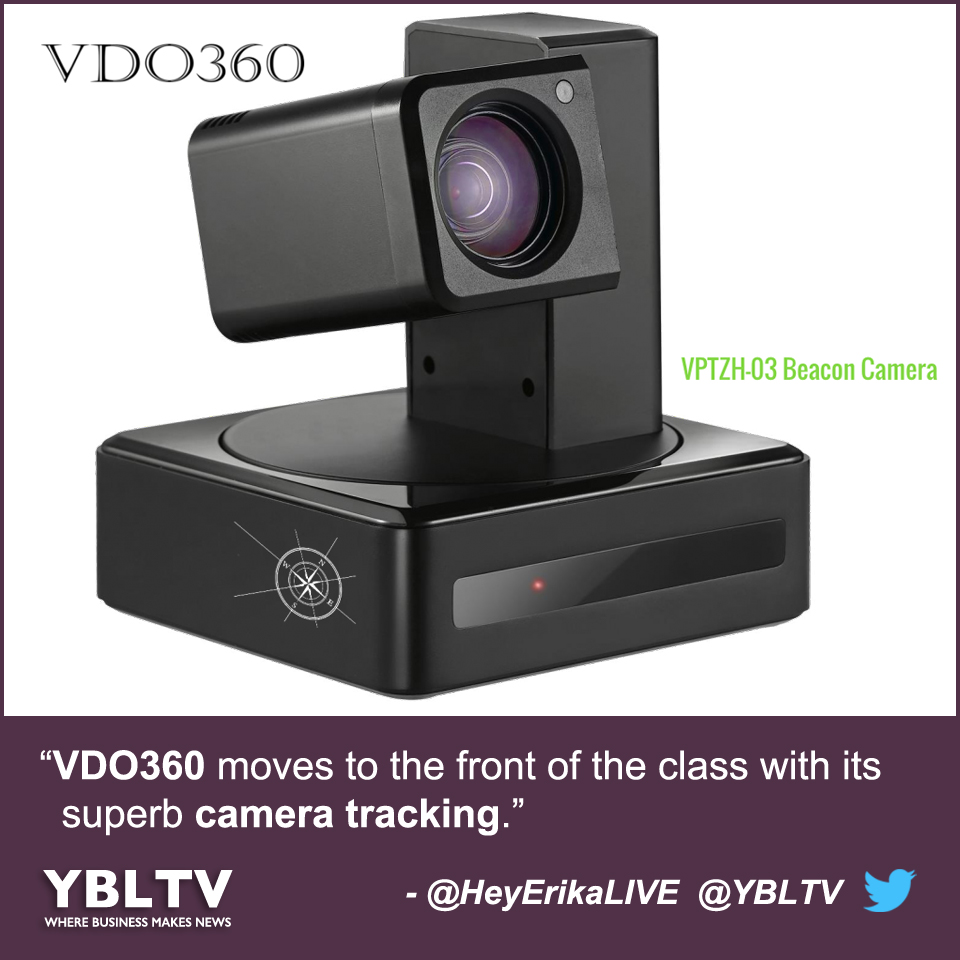 VDO360 Moves to the Front of the Class with Its Superb Camera Tracking.