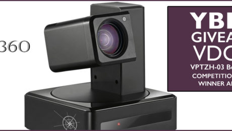 BIG CONGRATULATIONS TO Elizaveta H! You are the #LUCKY @vdo360 VPTZH-03 Beacon #Camera! #VIDEOCONFERENCING #WINNER!