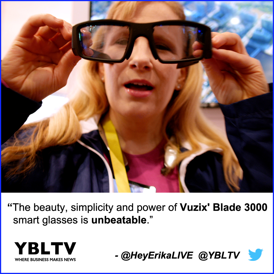 The Beauty, Simplicity and Power of Vuzix' Blade 3000 Smart Glasses is Unbeatable.