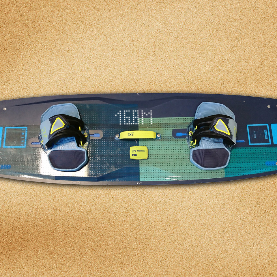 North Kiteboarding and PIQ Sport Intelligence present a major innovation at ISPO 2017 -the first-ever connected kiteboard.