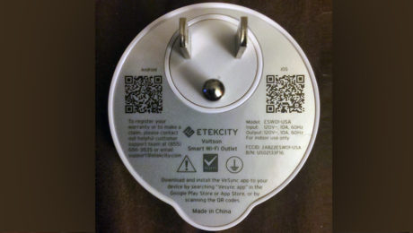 Turn Your Smartphone Into a Smart Switch with ETEKCITY Voltson Smart Wi-Fi Outlet.