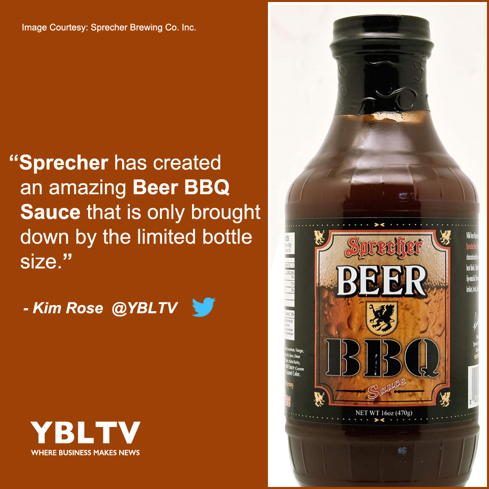 Sprecher Beer BBQ Sauce is BBQ Love By Kim Rose.
