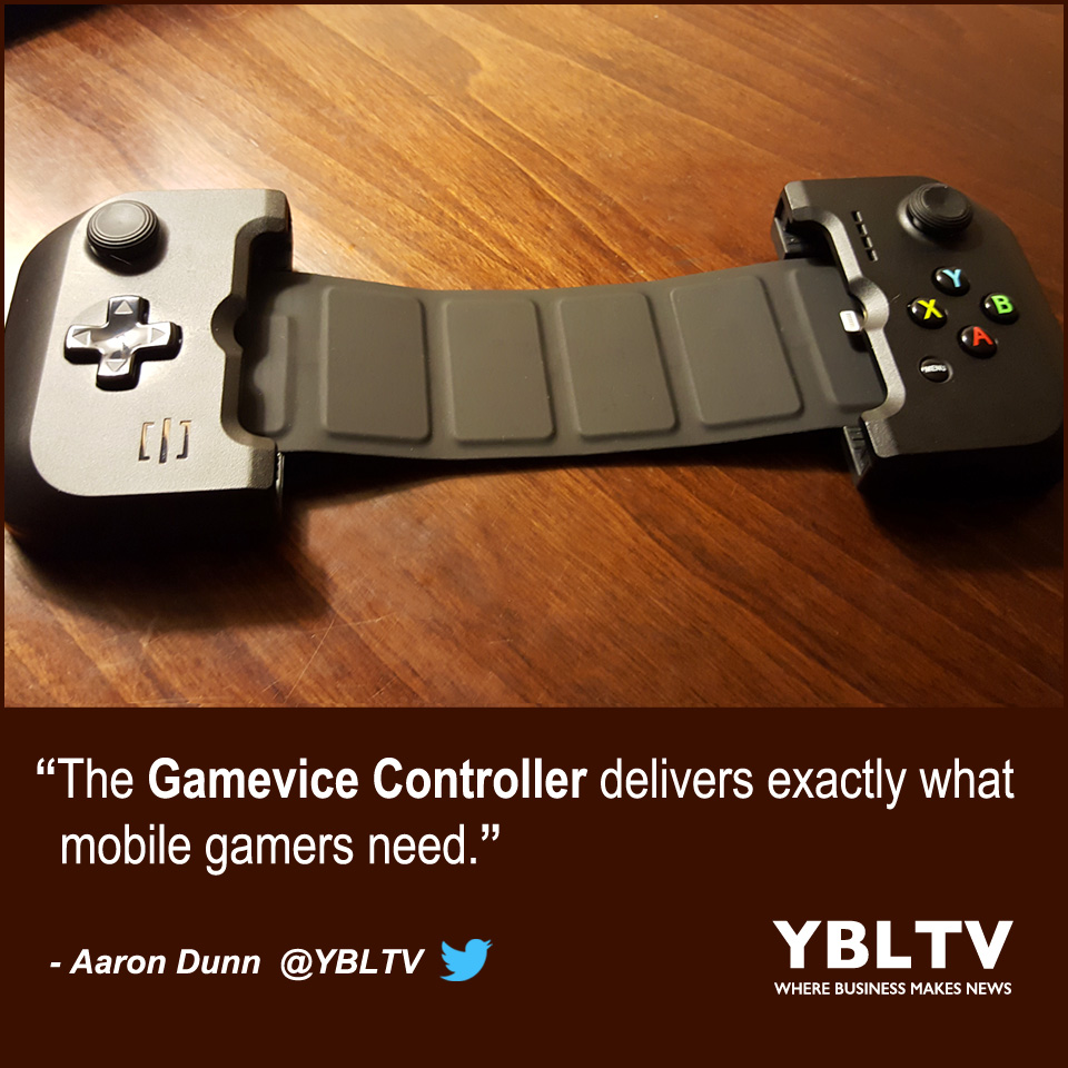 YBLTV Product Review by Aaron Dunn: Gamevice.