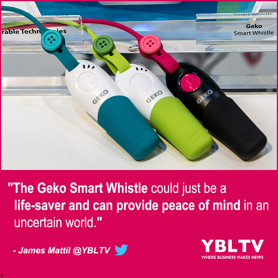 YBLTV Product Review by James Mattil: Stay Safe This Spring With Geko Smart Whistle