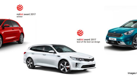 2017 Red Dot Awards: Triple Victory for Kia Design. Image Sources: Kia Motors Corporation.