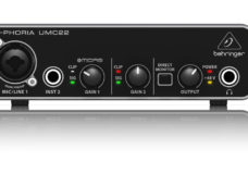 K.K. Watts, YBLTV Writer / Reviewer, reviews BEHRINGER U-PHORIA UMC22.
