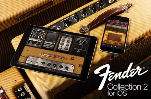 IK Multimedia releases Fender® Collection 2 for iOS -  the legendary history of guitar tone now on iPhone and iPad