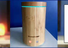 YBLTV Giveaway: InnoGear Bamboo Essential Oil Diffuser. Review by Kayla Costanzo, YBLTV Writer / Reviewer.