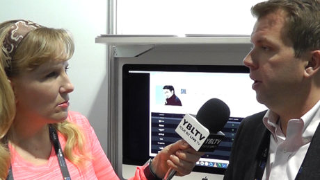 Broadway Video's VP, Digital Operations & Business Development, Sam Coupe chats with YBLTV Anchor, Erika Blackwell at NAB 2017.