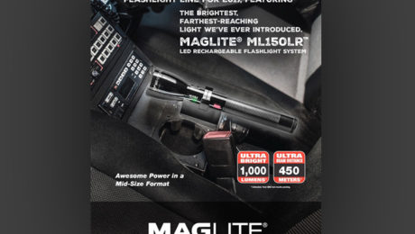 The MAGLITE® ML150LR™ LED Flashlight Rechargeable System Introduces Brightest, Farthest-Reaching Light.