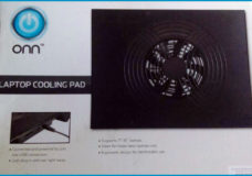 "YBLTV Review by LaMetra Miller: Cheaper is Sometimes Better ""Onn LapTop Cooling Pad is Cool."""