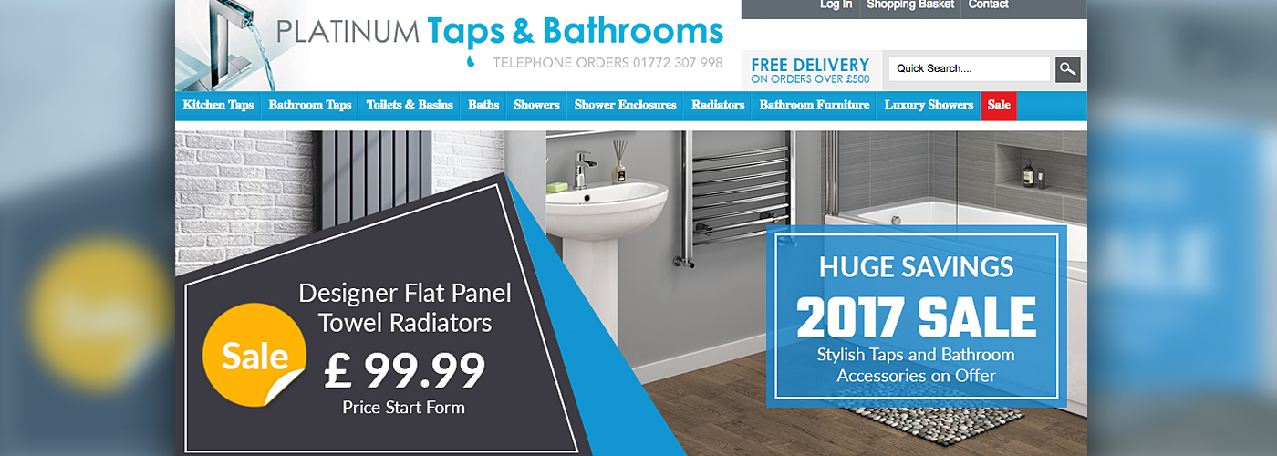 Platinum Taps & Bathrooms Announce the Launch of their Brand New ...