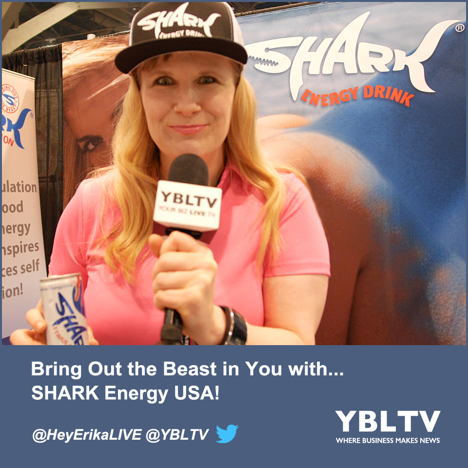 Bring Out the Beast in You with SHARK Energy USA!