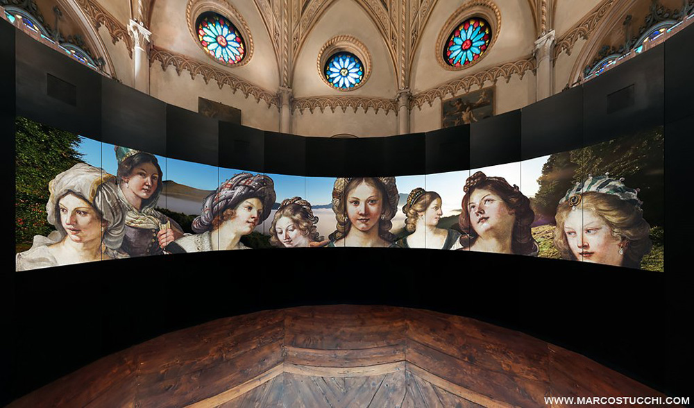 SpinetiX Case Study: Guercino in an Up-Close View.