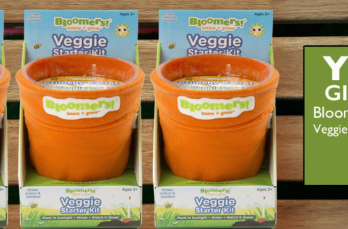 YBLTV Giveaway: Bloomers Edutainment - Veggie Growing Kit - Carrot.