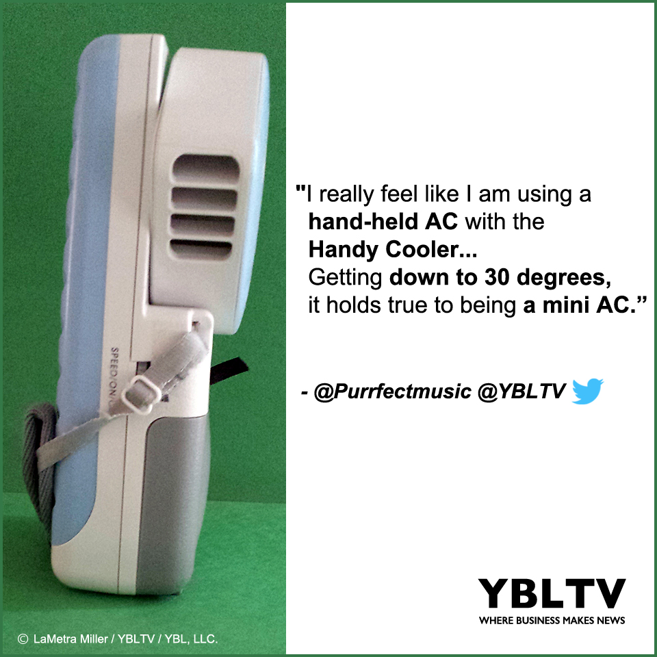YBLTV Review by LaMetra Miller: The Handy Cooler.