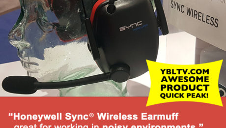YBLTV Awesome Product - Quick Peak: Honeywell Sync® Wireless Earmuff.