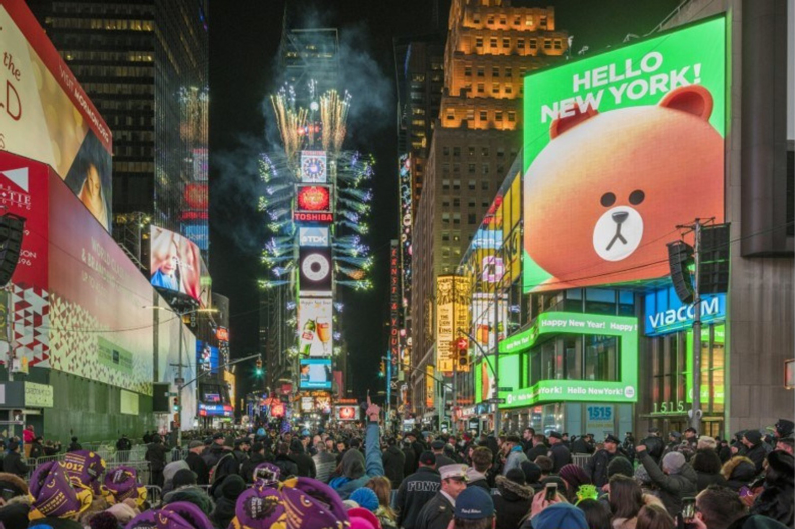 LINE FRIENDS, a global character brand, will open its first official U.S. store (430 square meters) this July in Times Square, New York City