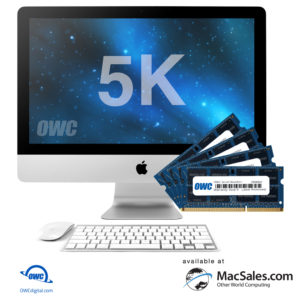 Macsales.com Announces Availability of New Memory Upgrades up to 6 4GB for New iMac wv