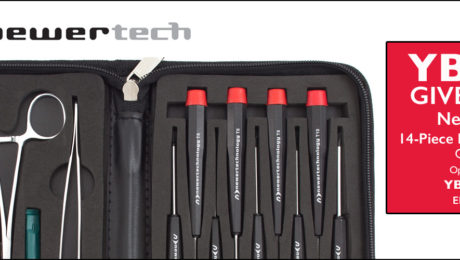 YBLTV Giveaway: NewerTech 14-Piece Portable Toolkit. Review by William Fraser.