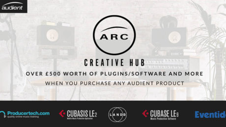 Audient Unveils ARC - The Creative Hub