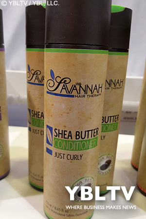 Savannah Hair Therapy Just Curly Collection Treatment Conditioner.