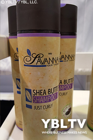 Savannah Hair Therapy Just Curly Collection Treatment Shampoo.