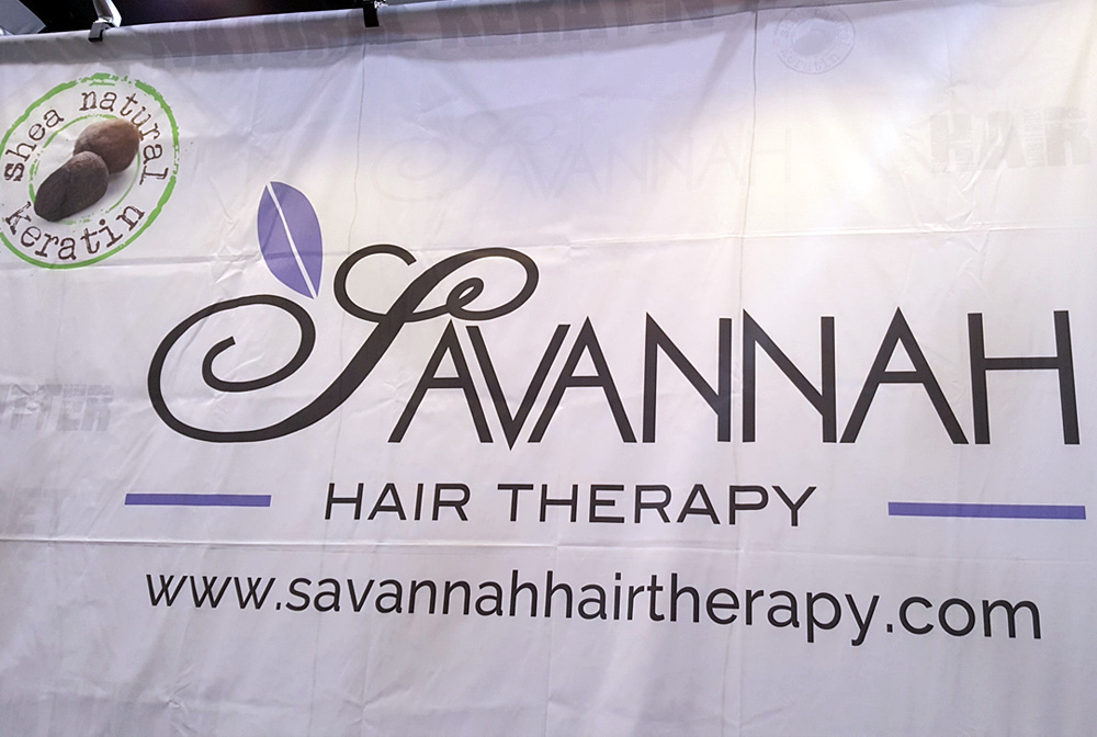 Savannah Hair Therapy exhibited at IBS Las Vegas, 2017.