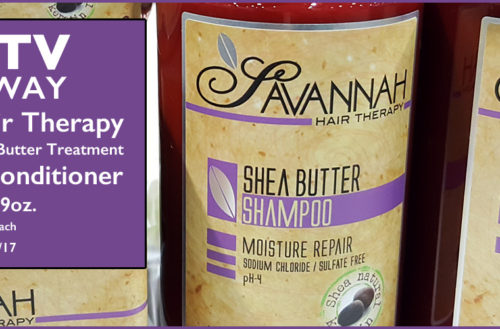 YBLTV Review & Giveaway: Savannah Hair Therapy. Review by YBLTV Writer / Reviewer, Ellen Saravis.