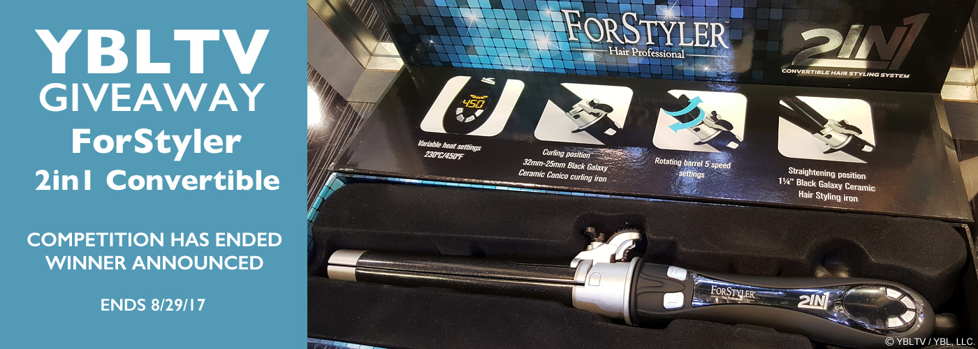 YBLTV Giveaway: ForStyler 2in1 Convertible Hair Styling Iron