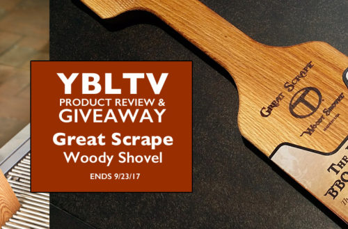 YBLTV Review & Giveaway: Great Scrape - Woody Shovel.