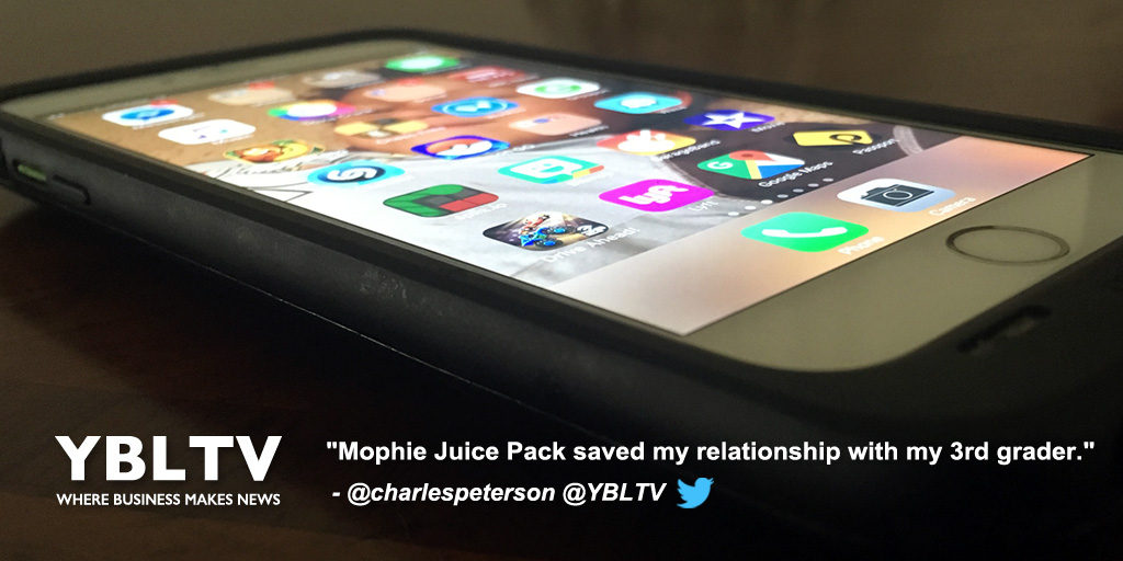 Mophie Juice Pack. YBLTV Review by Ted Peterson.