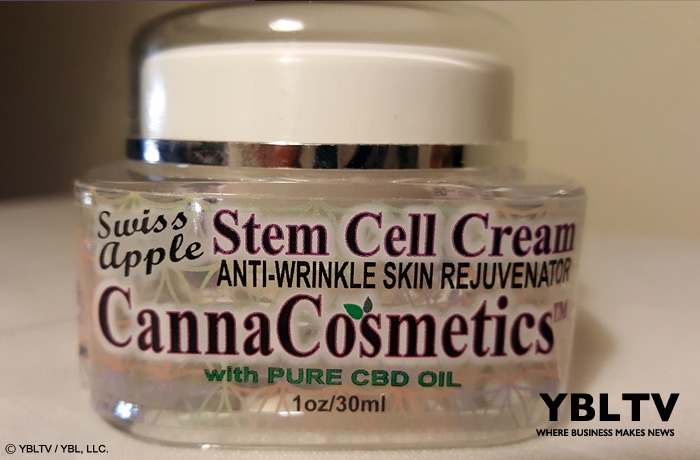 Rx Canna Care: Canna Cosmetics™ Anti-Aging Cream w/ Apple Stem Cells.