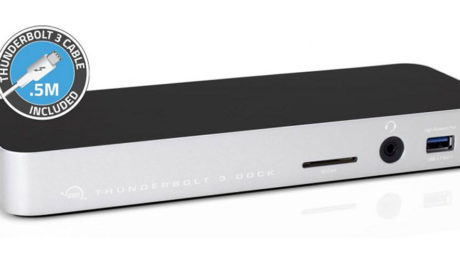 OWC Thunderbolt 3 Dock.