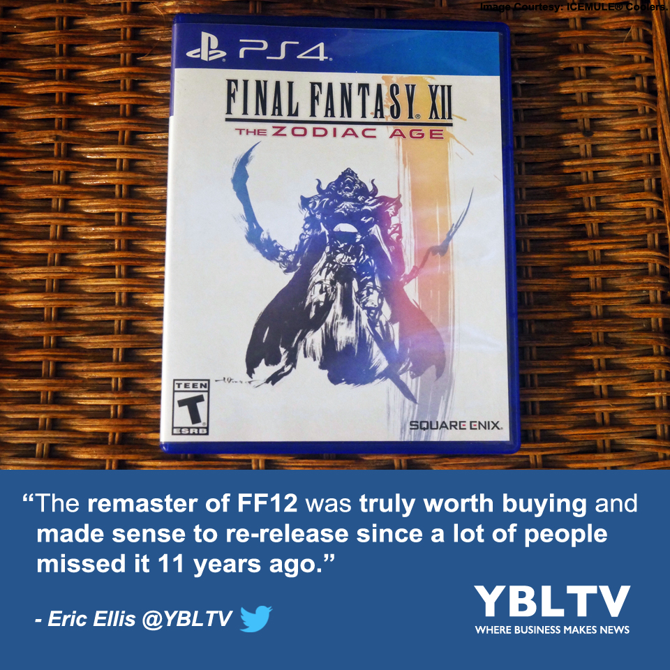 SQUARE ENIX LTD. Final Fantasy XII: The Zodiac Age. YBLTV Review by Eric Ellis.