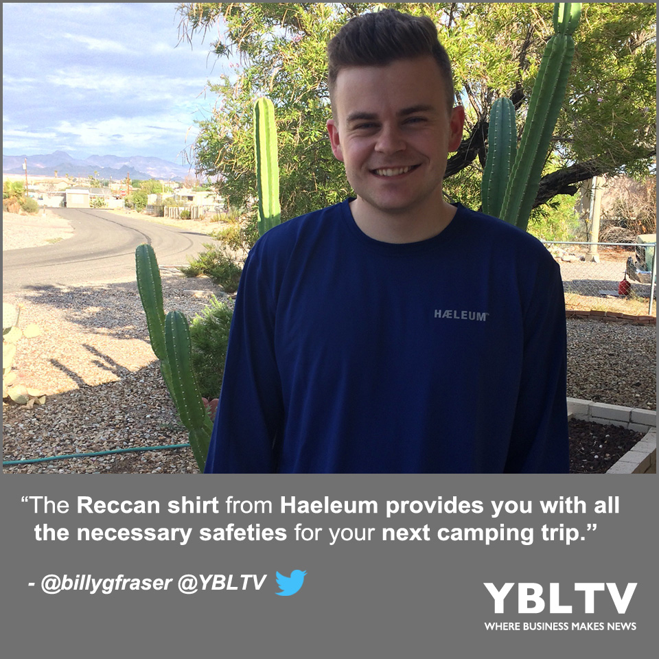 YBLTV Writer / Reviewer, William Fraser reviews Haeleum Men's Insect Repellent Shirt Reccan | Midnight Blue, made of lightweight, highly breathable fabric that features Insect Shield Technology® to repel mosquitoes, ticks and other dangerous insects.
