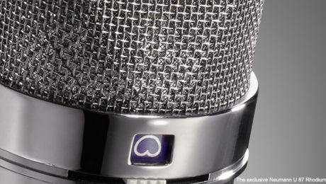 The exclusive Neumann U 87 Rhodium Edition is limited to 500 units worldwide.