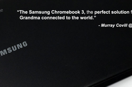 Samsung Chromebook 3. YBLTV Review by Murray Covill.