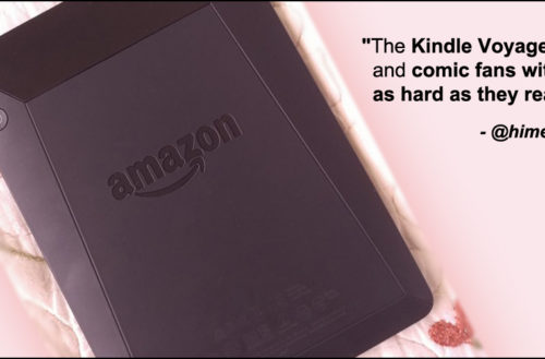 Amazon's Kindle Voyage E-Reader. YBLTV Review by Katie Hernandez.